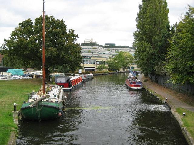 Grand Union Canal at Uxbridge - geograph.org.uk - 1495833