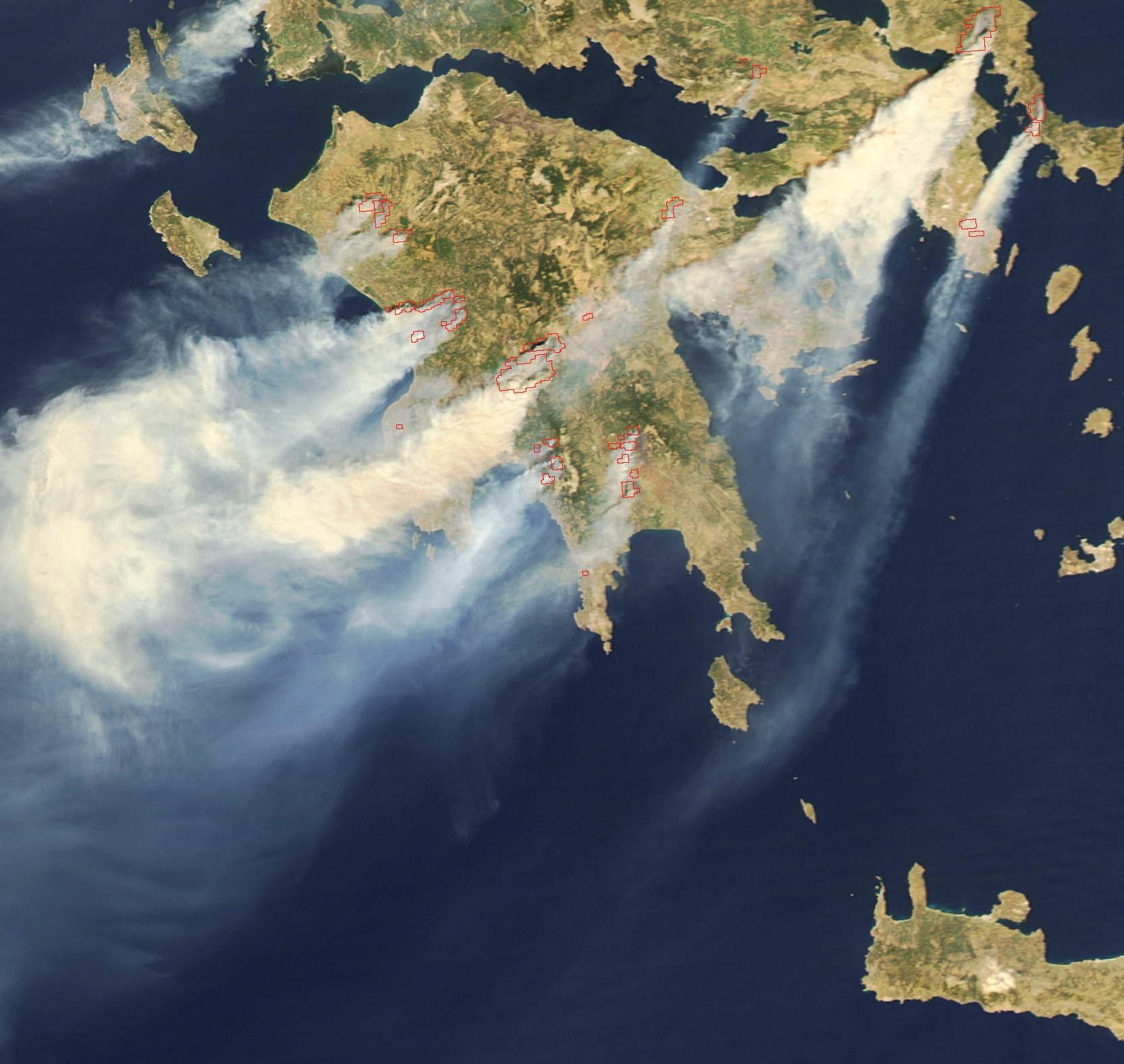 Schweden Waldbrände Karte.Waldbrände In Griechenland 2007 Wikipedia