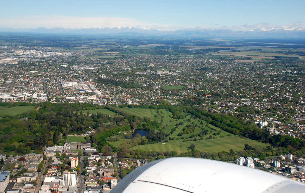 Christchurch New Zealand Wikipedia: File:Hagley Park And Christchurch Aerial.jpg