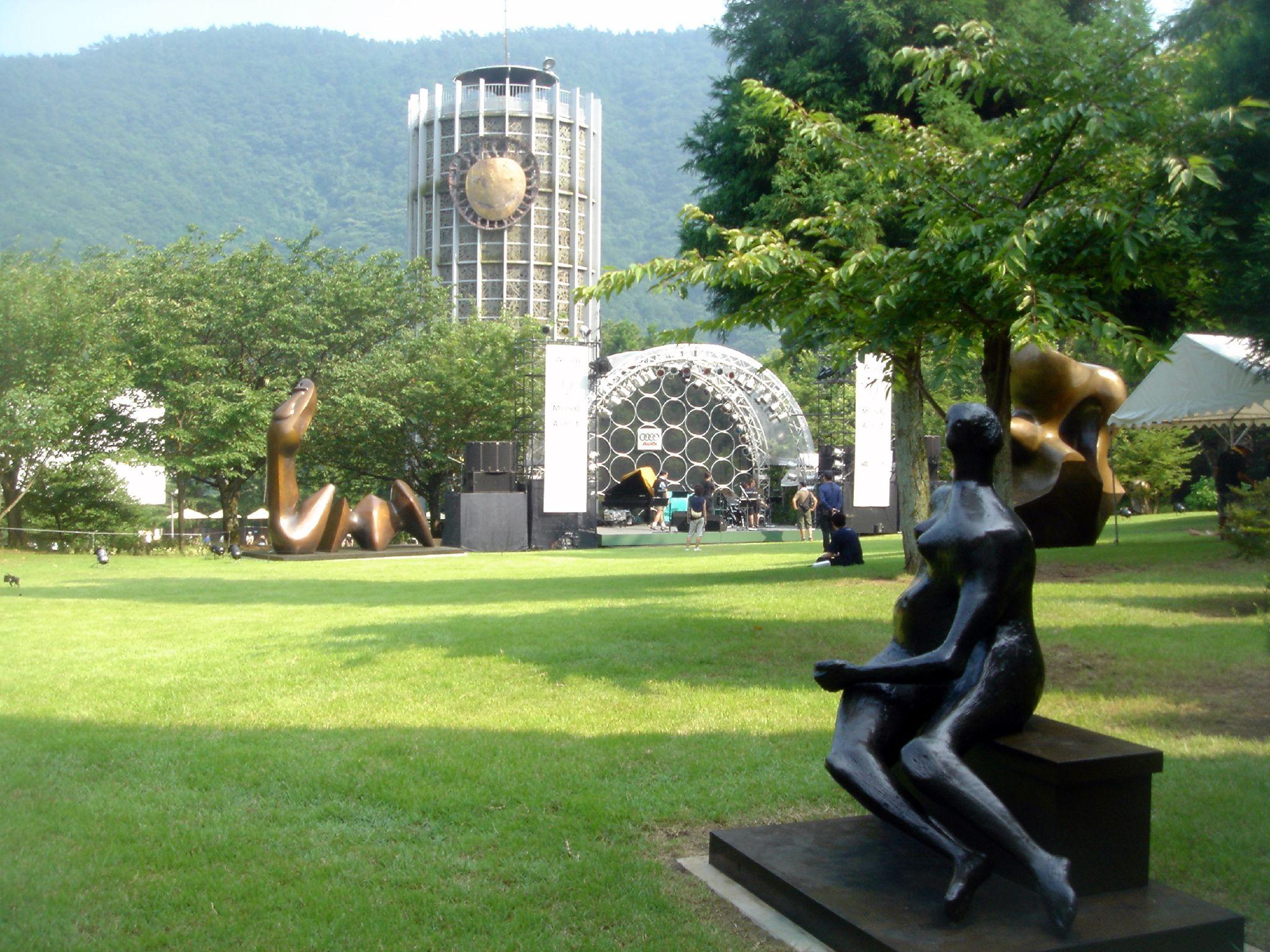 彫刻 美術館 森 箱根 の