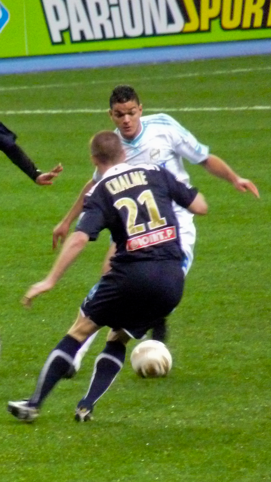 Hatem Ben Ara in the Coupe de la Ligue
