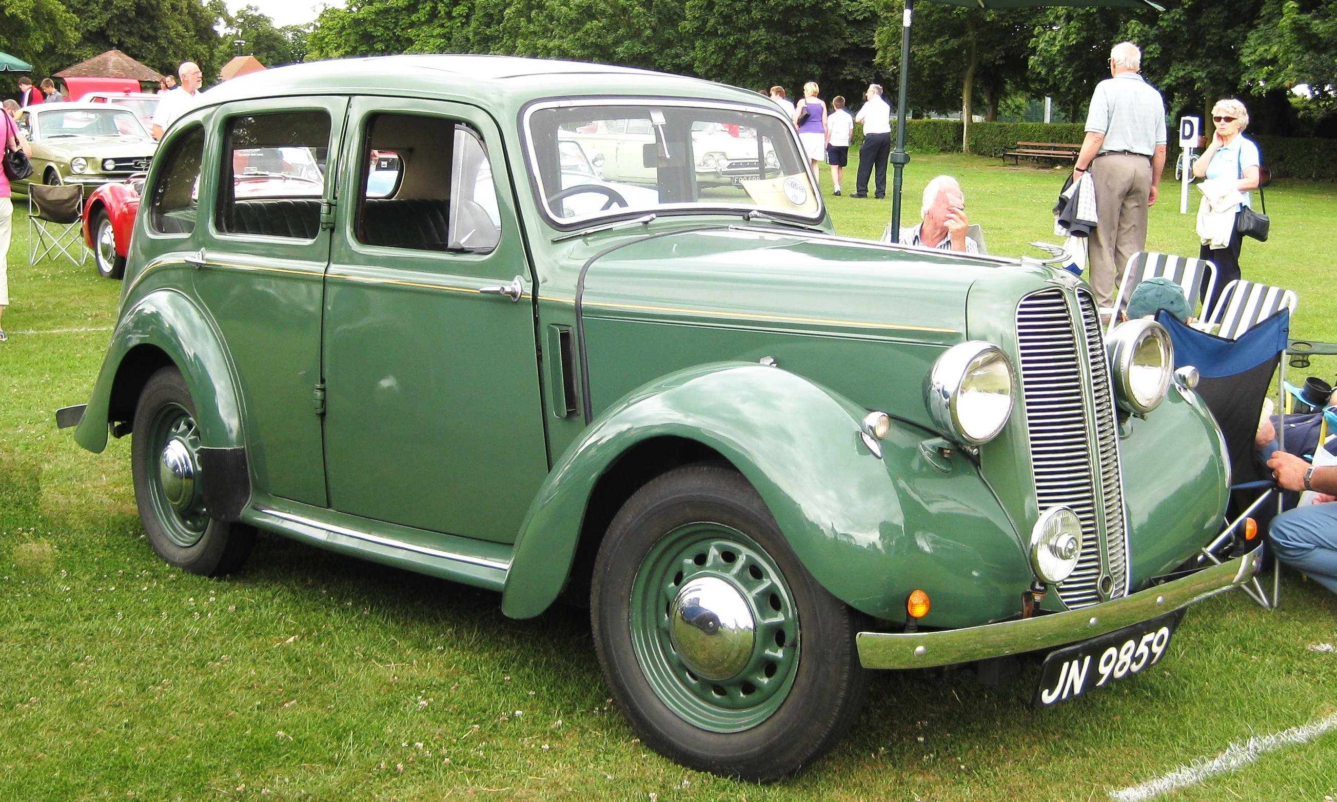 File:Hillman Minx manufactured 1937 1184 cc according to tax office.JPG