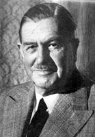 Godfrey Huggins Rhodesian Prime Minister