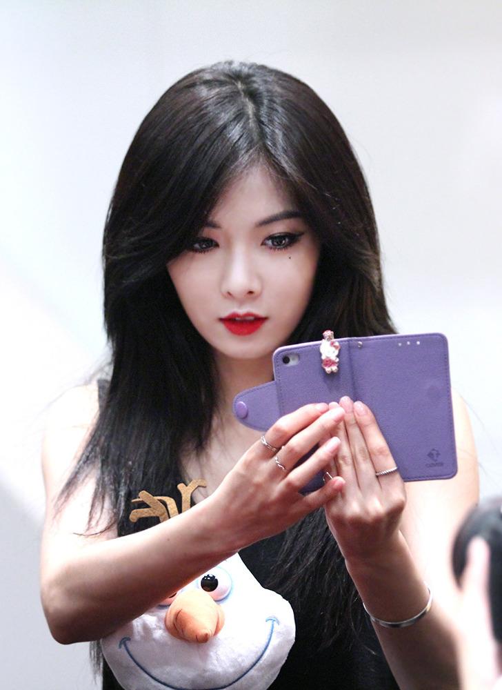 File:HyunA at fan event in August 16, 2014 02.jpg ... Hyuna 2014