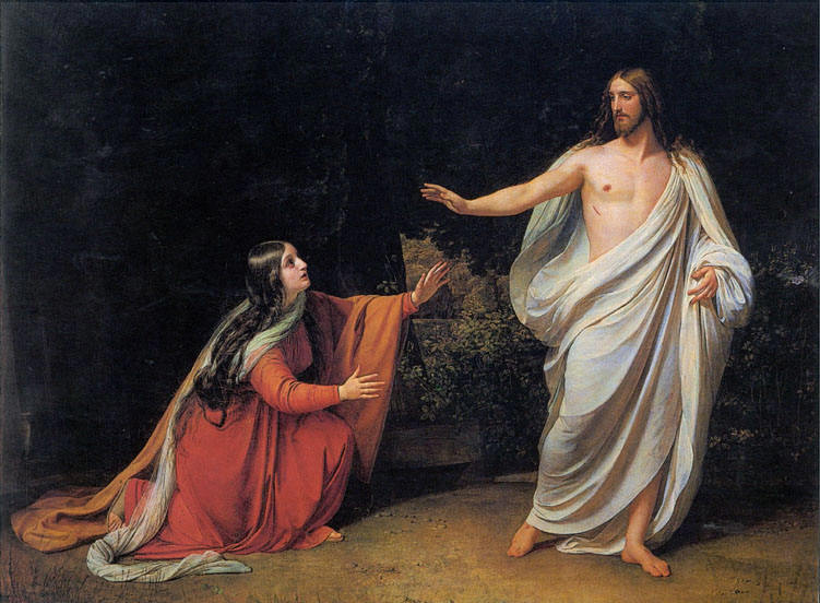 Ivanov, Alexander - The Appearance of Christ to Mary Magdalene - 1834-1836