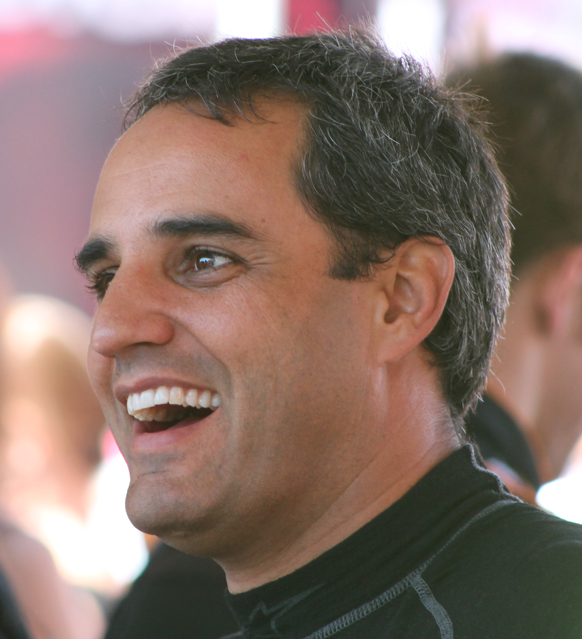 The 42-year old son of father Pablo Montoya and mother(?) Juan Pablo Montoya in 2018 photo. Juan Pablo Montoya earned a  million dollar salary - leaving the net worth at 18 million in 2018