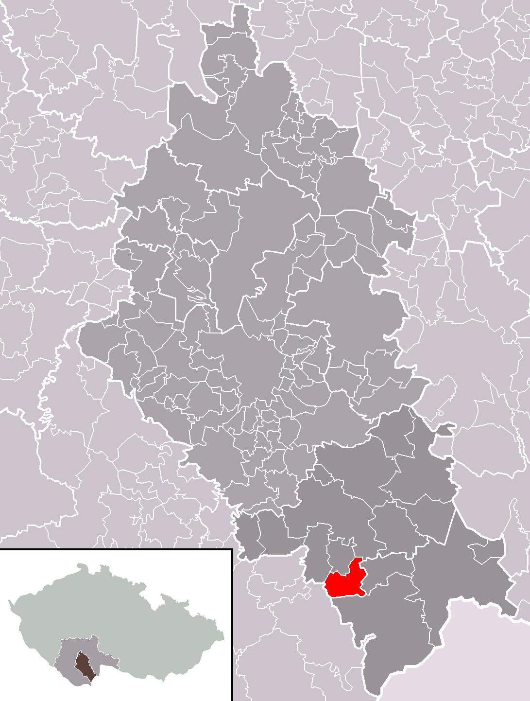Kamenná locator map