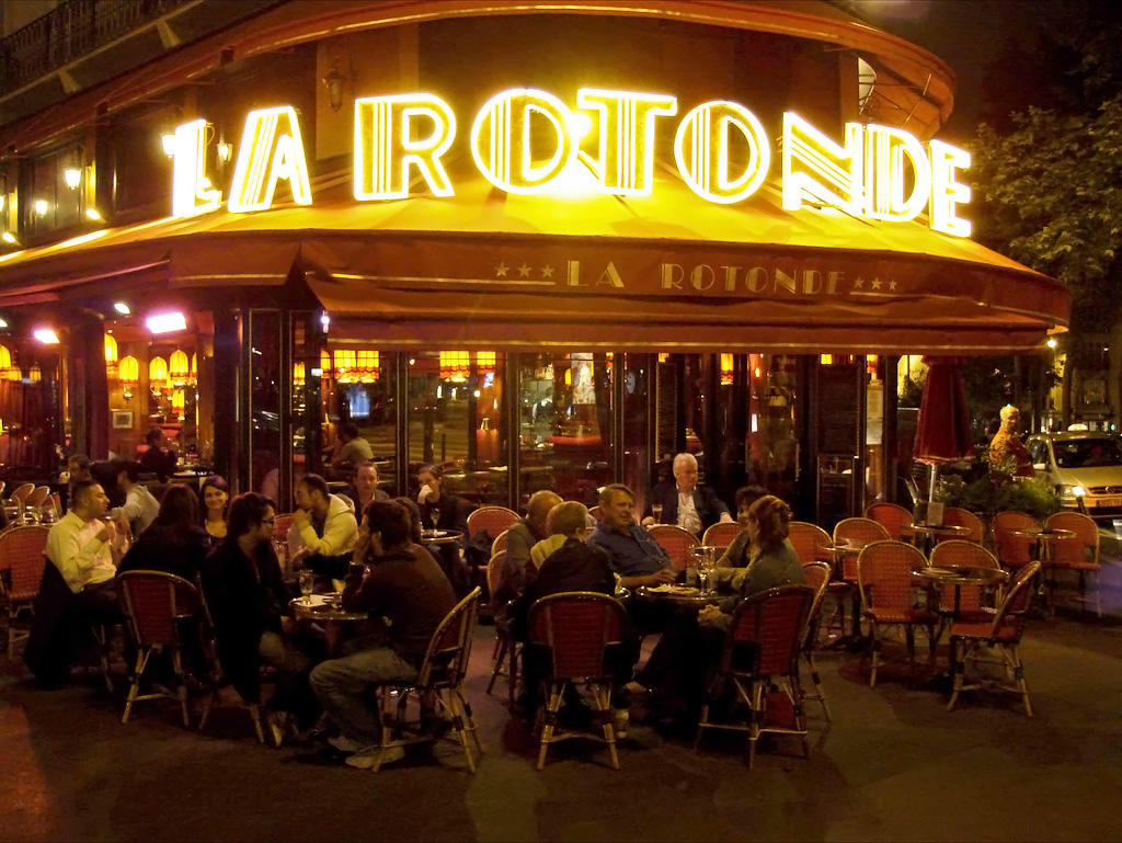 Paris Rotonde Cafe
