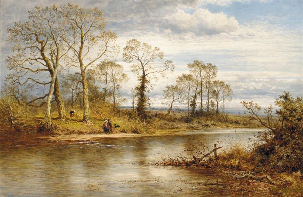 Image result for 19th century English painting autumn