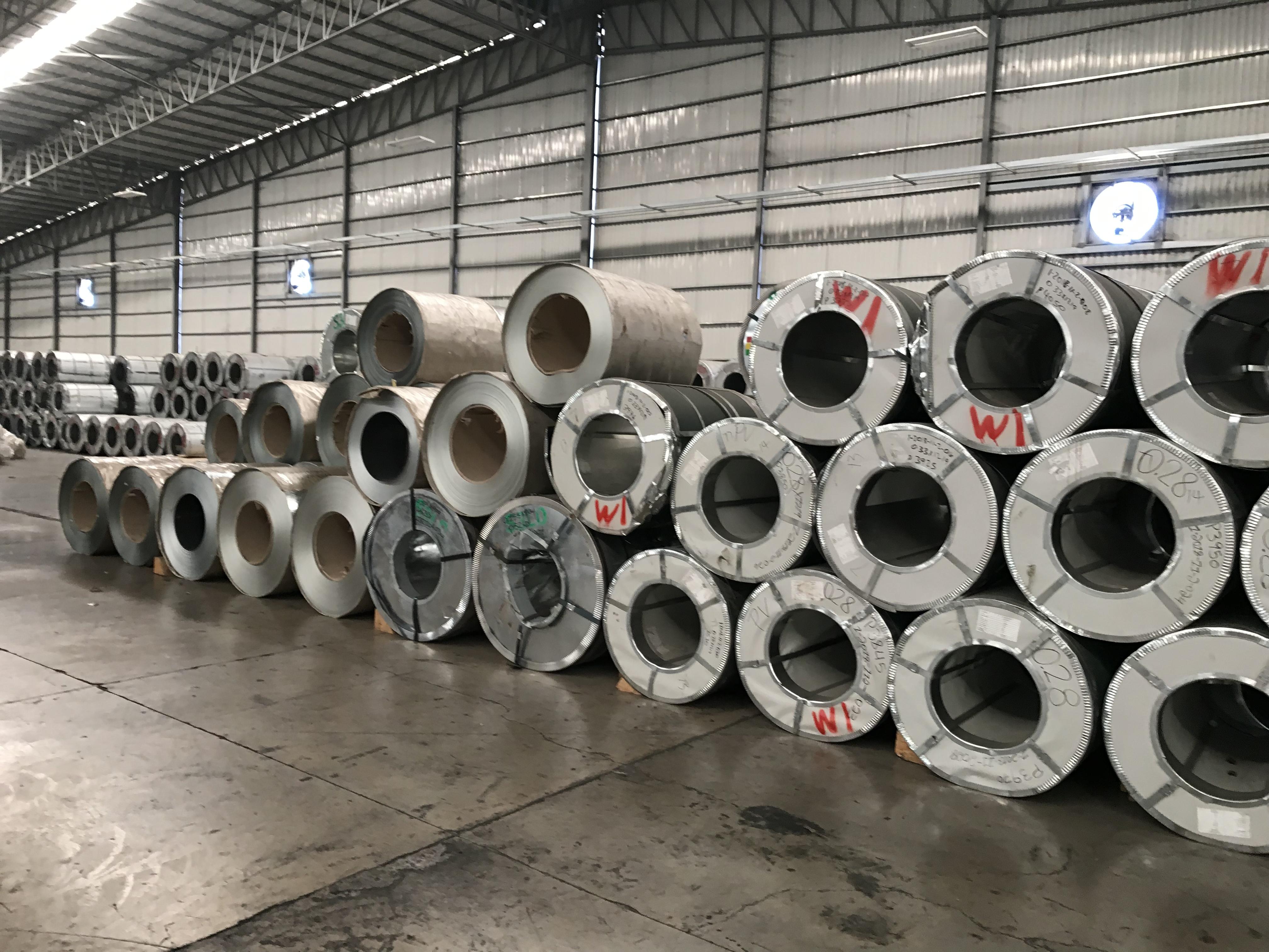 File:Leeco Steel Trading - galvanized coils jpg - Wikimedia Commons