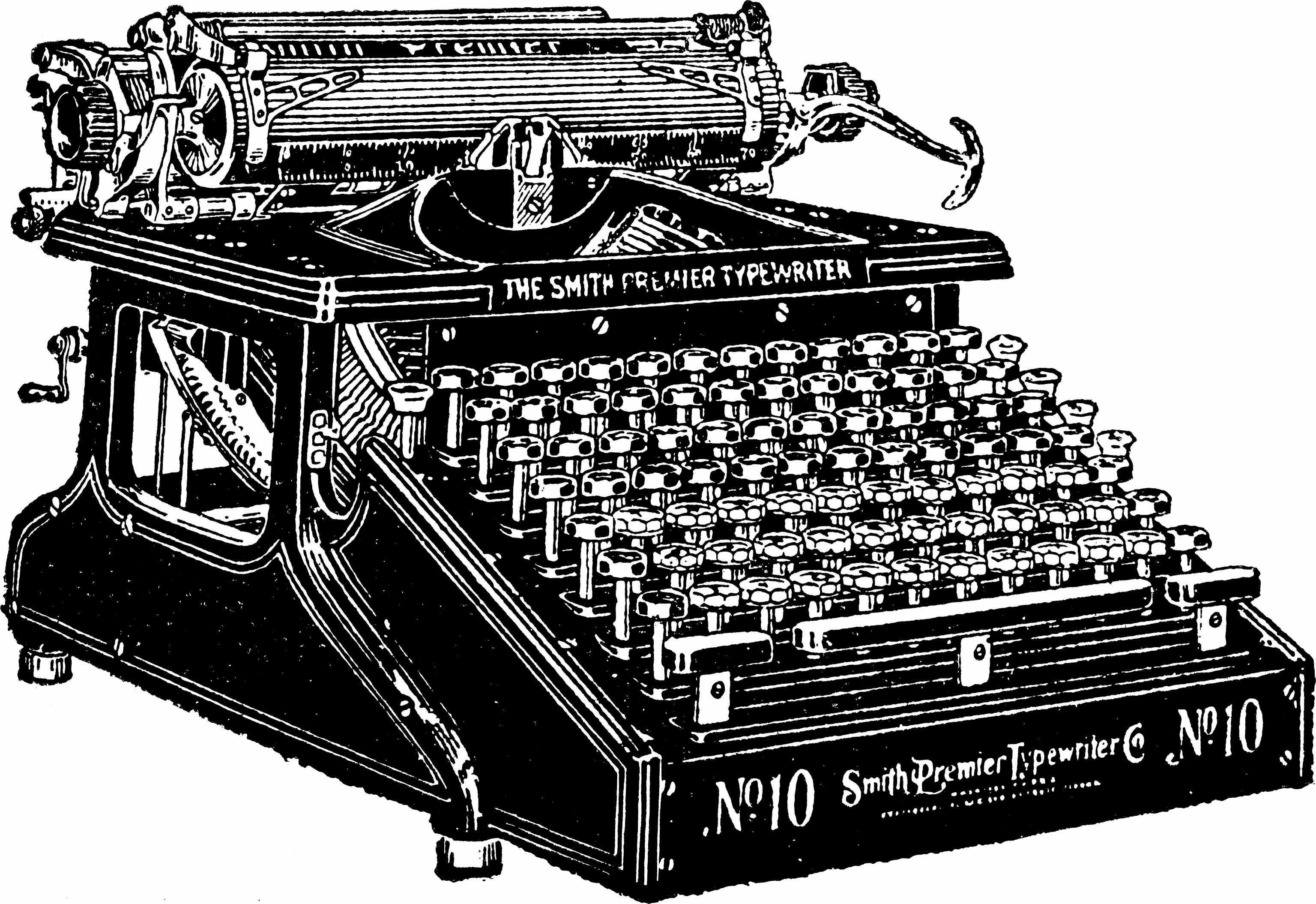 Smith Premier Typewriter, 1910