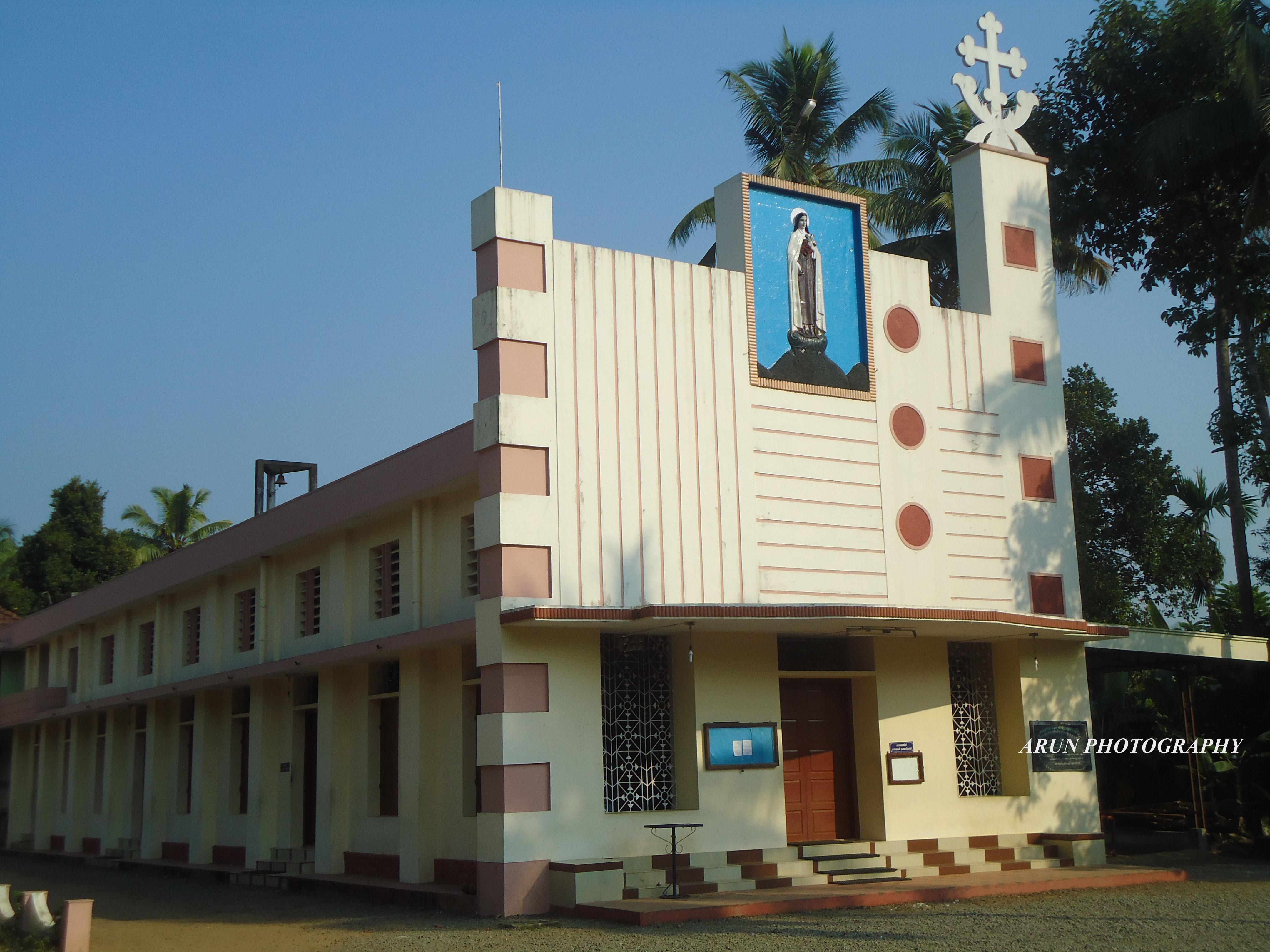 File Little Flower Church Kaprassery Wikimedia mons