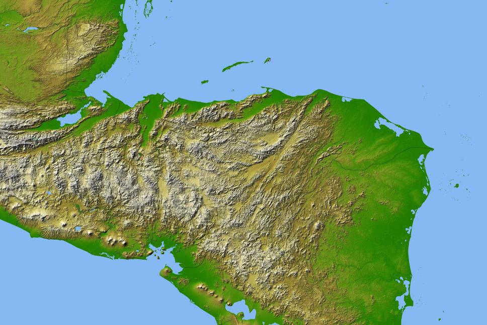 FileMapa Geografica de Honduras 33PNG  Wikimedia Commons