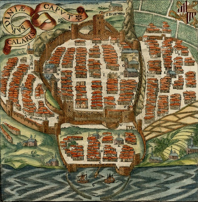 Cagliari in the past, History of Cagliari