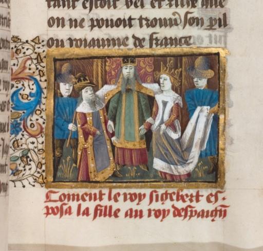 Mariage de Sigebert et Brunehilde