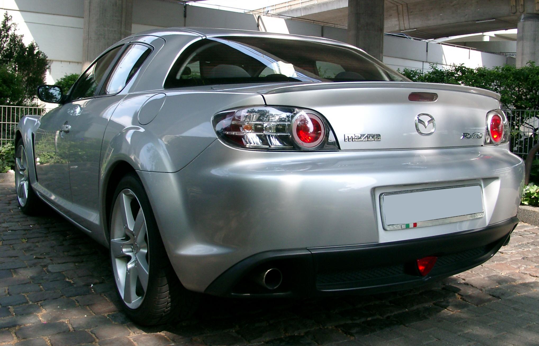File Mazda Rx8 Rear 20070523 Jpg Wikipedia