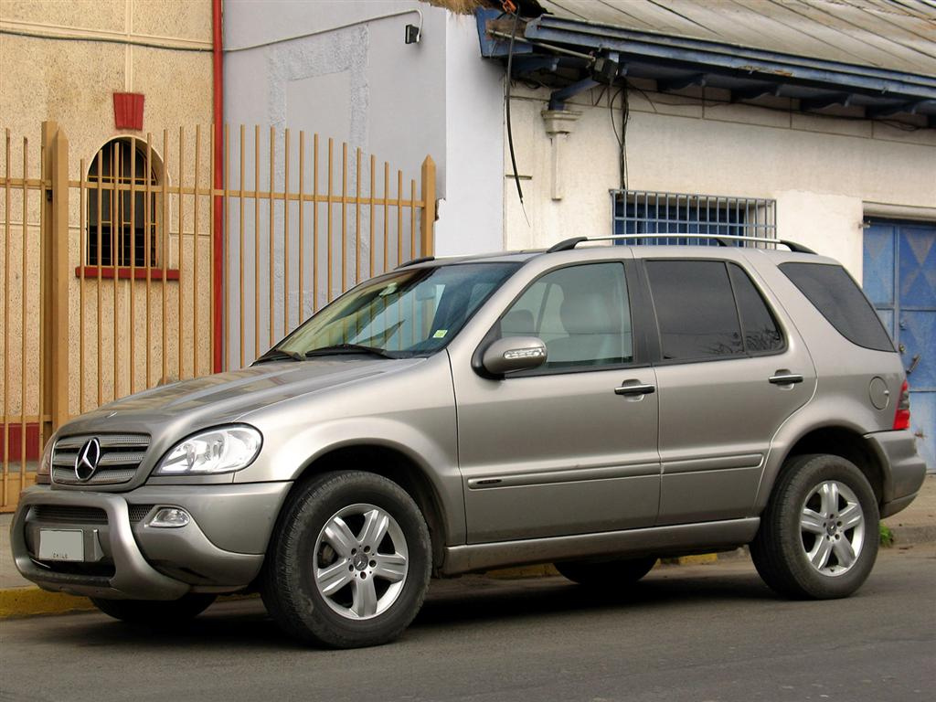 File Mercedes Benz Ml 270 Cdi Final Edition 2005 Jpg Wikimedia Commons