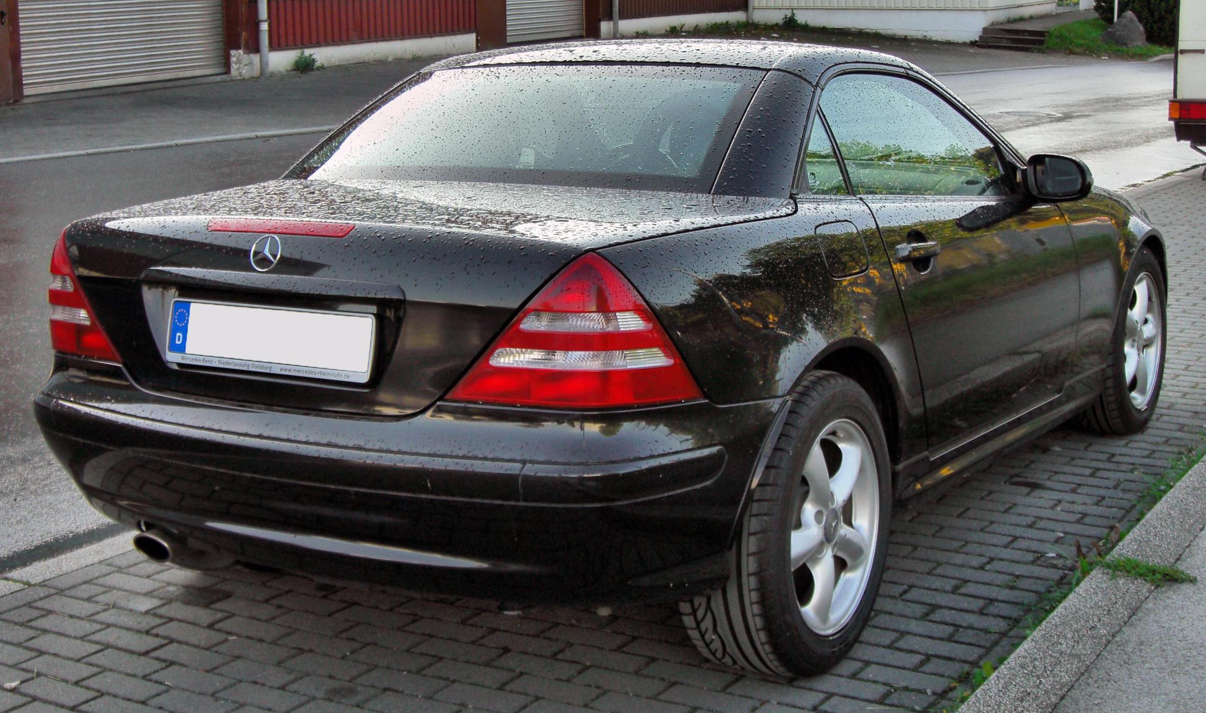 Mercedes Slk R170 Styling