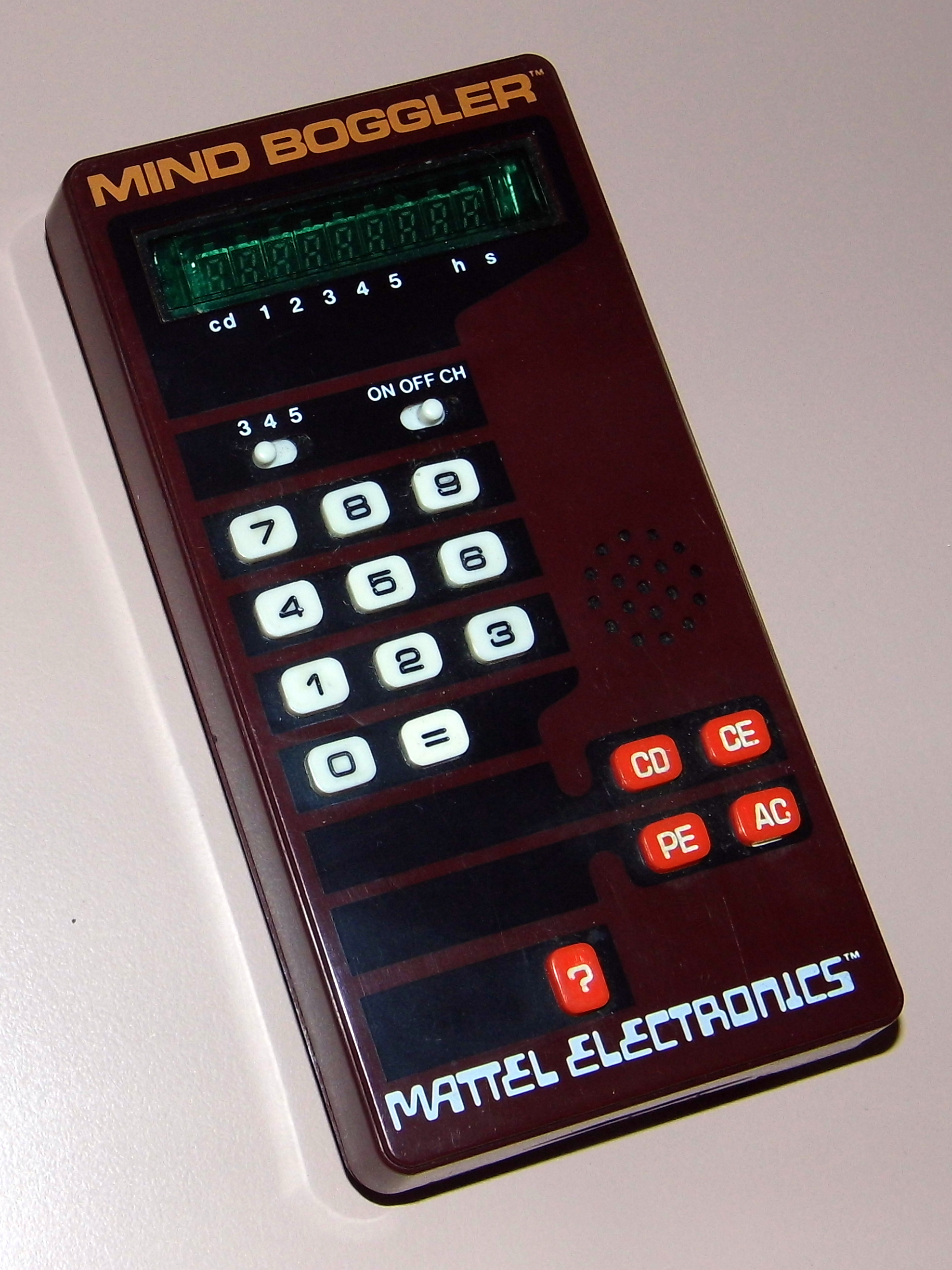 File:Mind Boggler by Mattel Electronics, Model 2626, Made In Hong Kong,