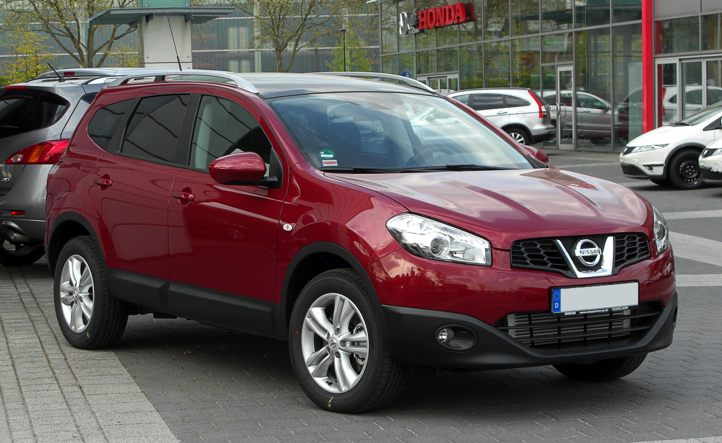 file nissan qashqai 2 dci facelift frontansicht 16 april 2011 d wikimedia. Black Bedroom Furniture Sets. Home Design Ideas