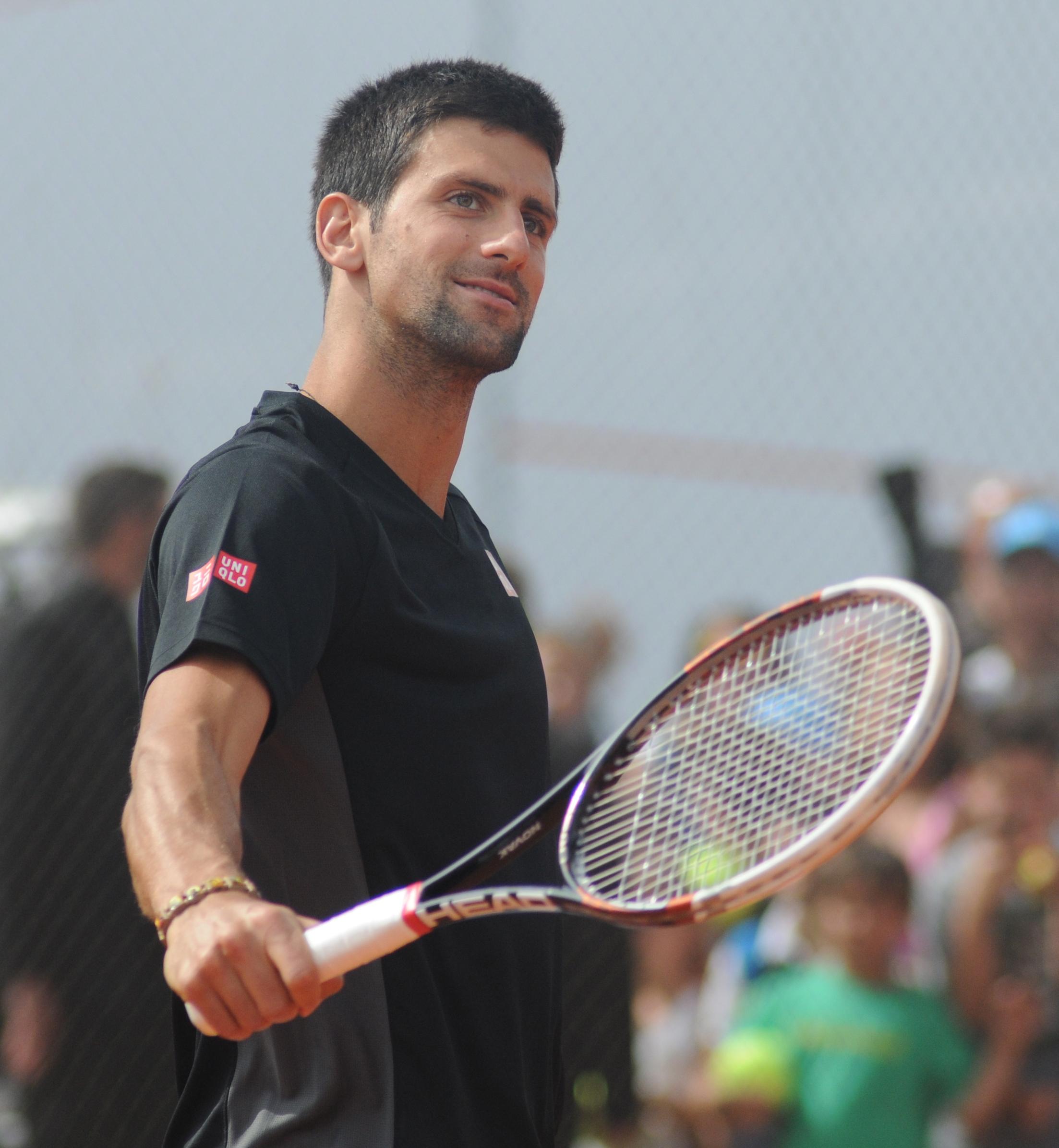 Novak Đoković agli Internazionali BNL d'Italia 2014