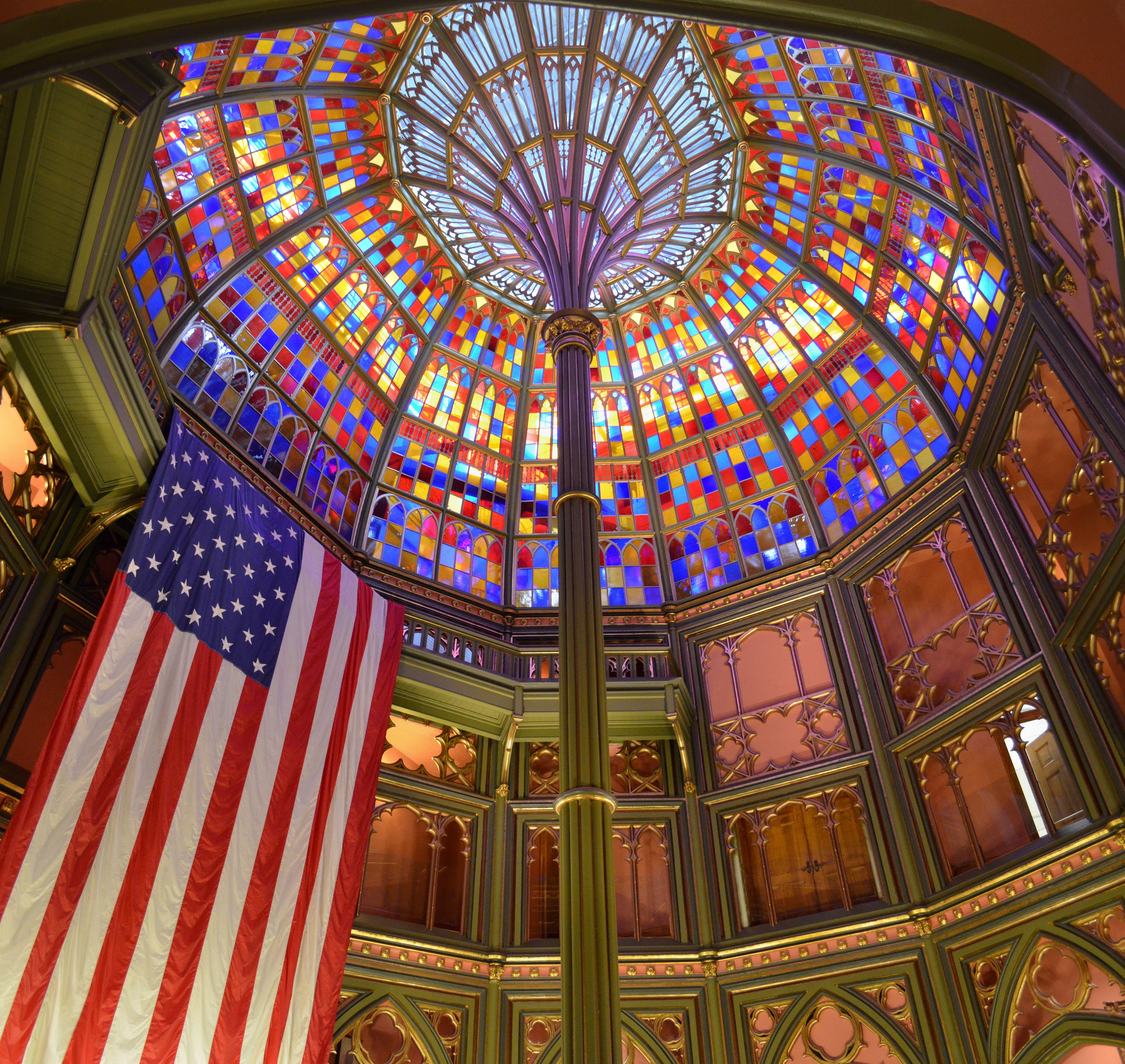 Louisiana Dome House: File:Old Louisiana State Capitol Rotunda.jpg
