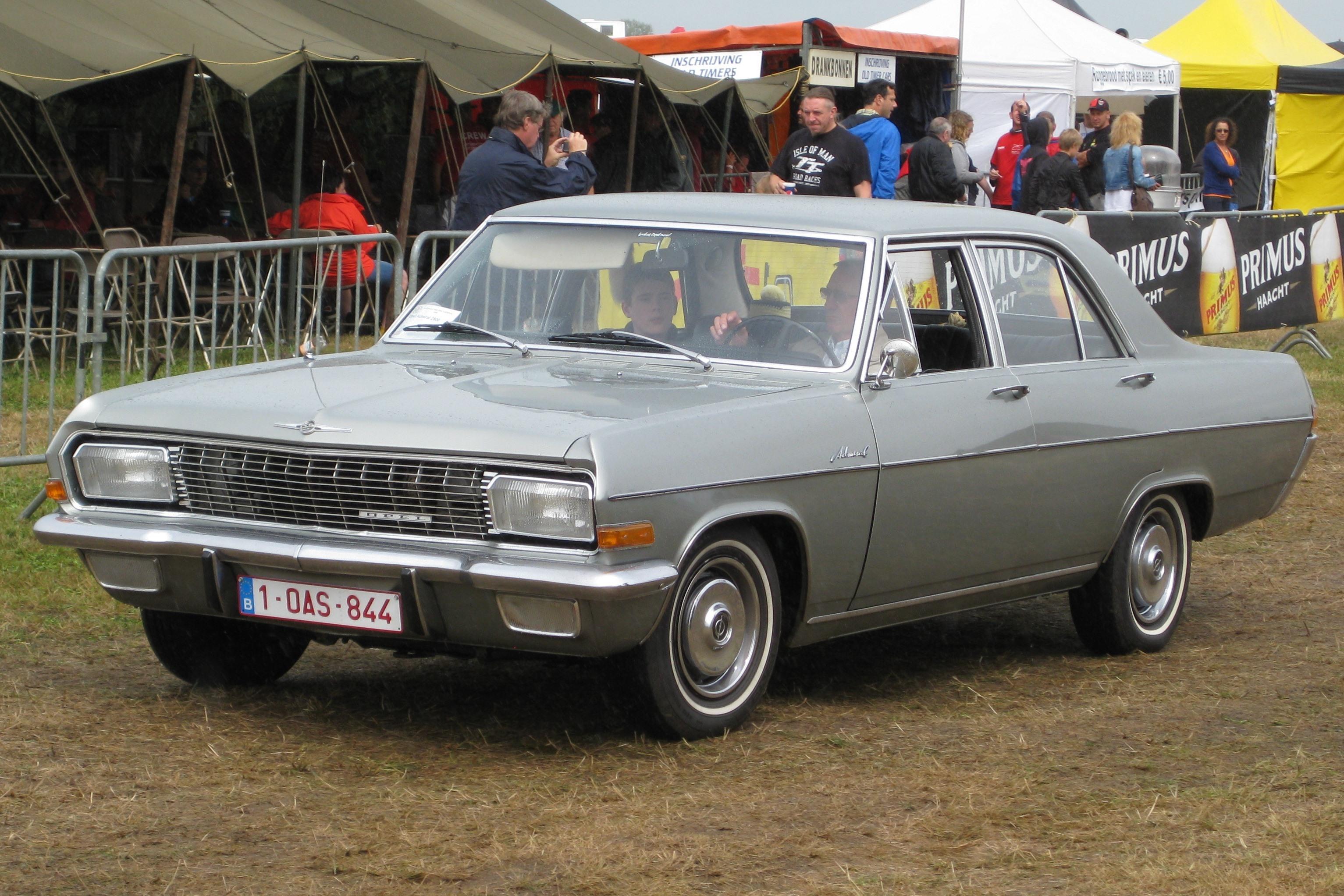 File Opel Admiral A Schaffen Diest Fly Drive 2013 Jpg