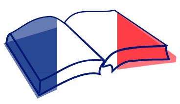 Fichier:Open book nae French flag.png