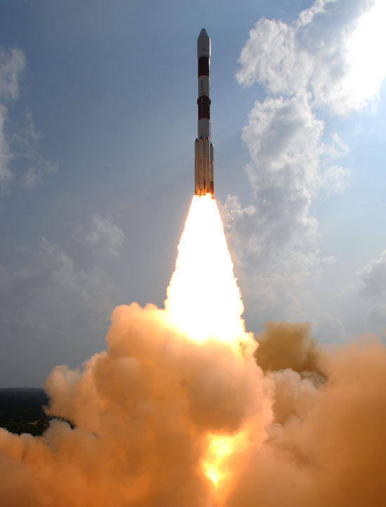 November 5, 2013 - Successful launching of India's Mars Orbiter Mission.