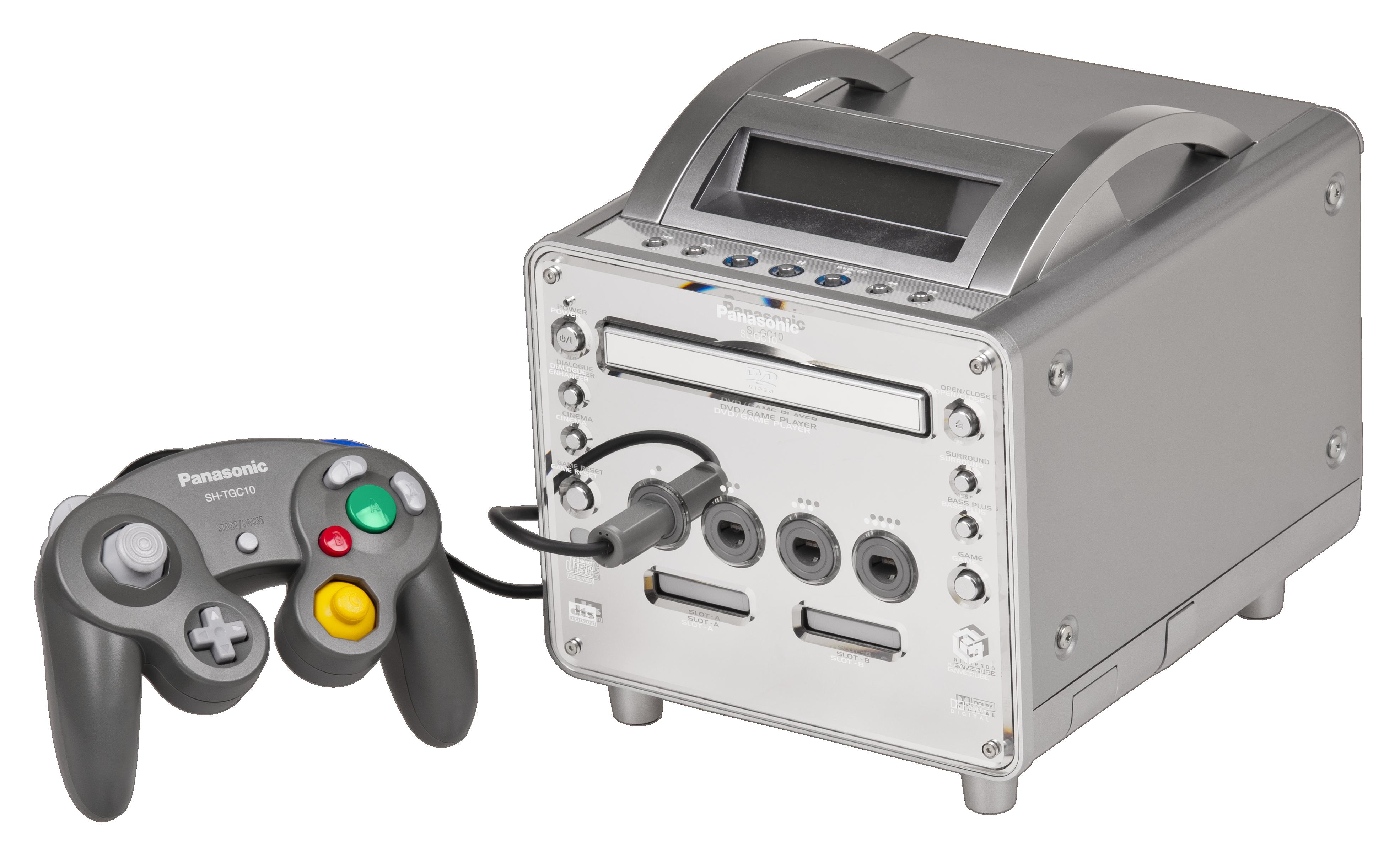 GameCube Nintendo Panasonic q