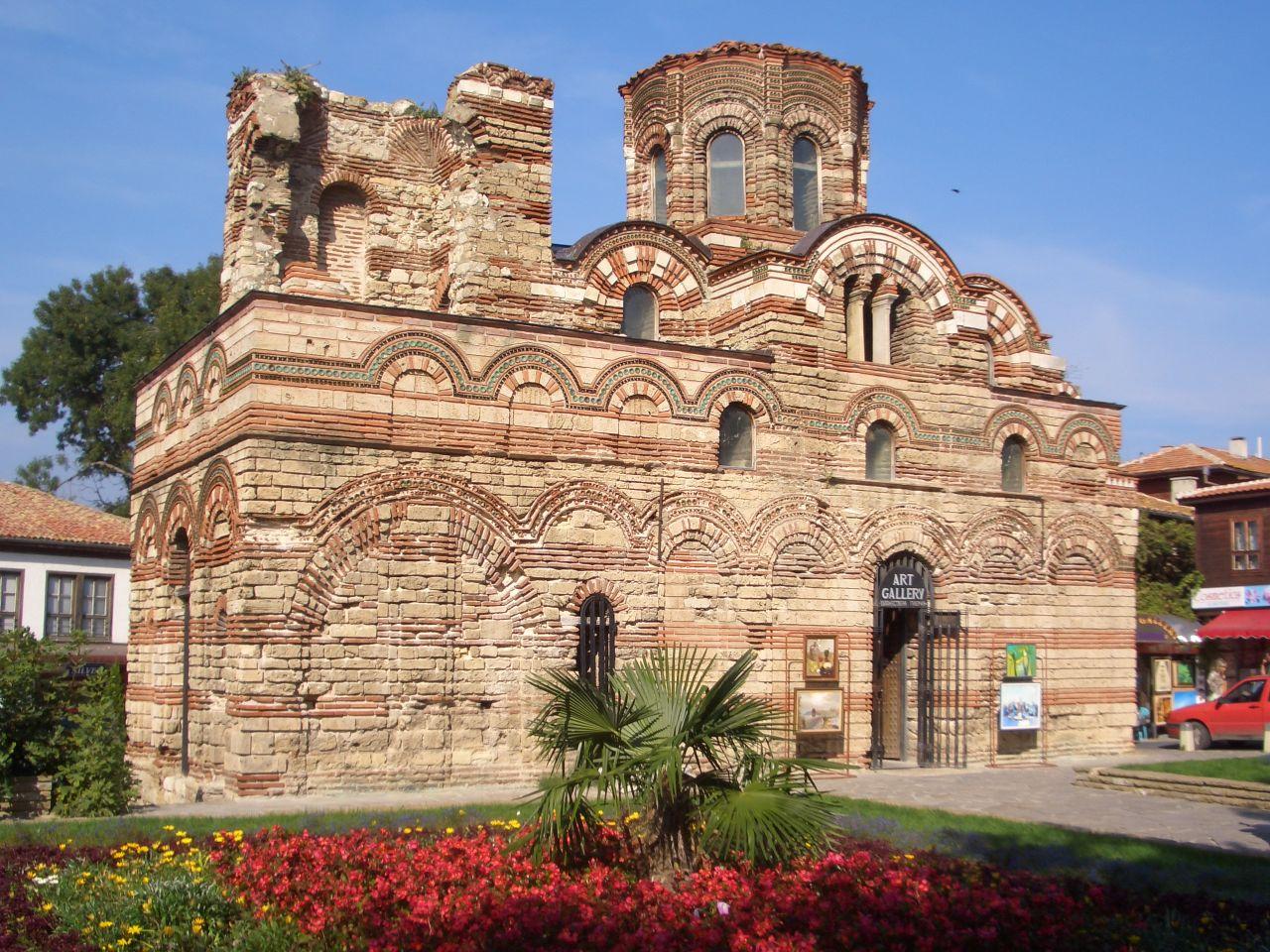 Nessebar Bulgaria  City pictures : Description Pantokrator church in Nessebar Bulgaria
