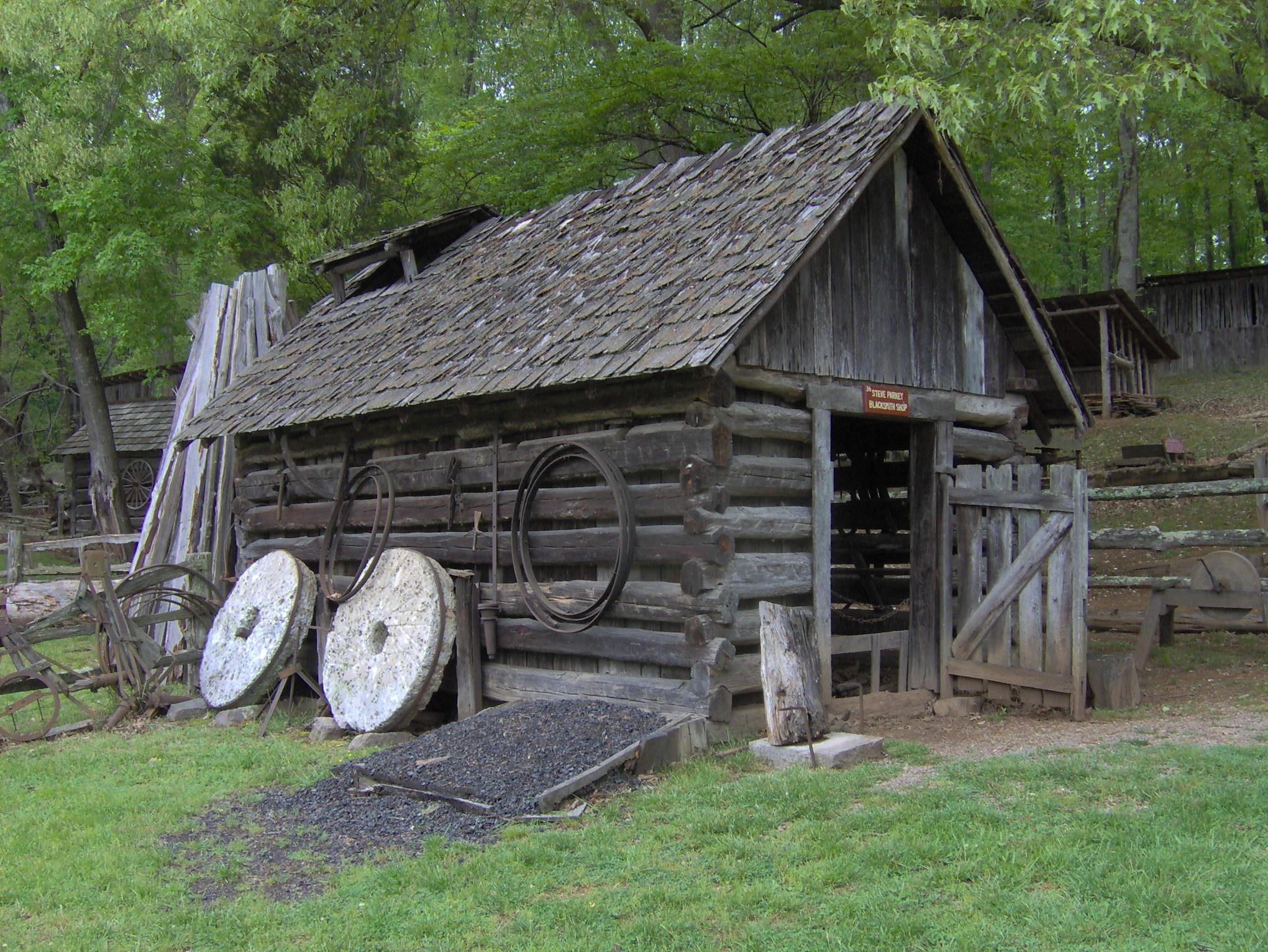 FileParkey blacksmith shop tn1jpg Wikimedia Commons