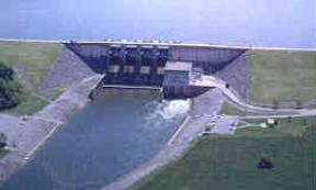 dam in Davidson County, Tennessee, United States of America