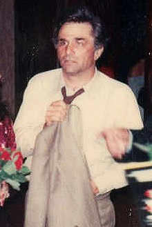 Peter Falk at the premiere of Bette Midler's movie The Rose in 1979. Peter Falk 1979.JPG
