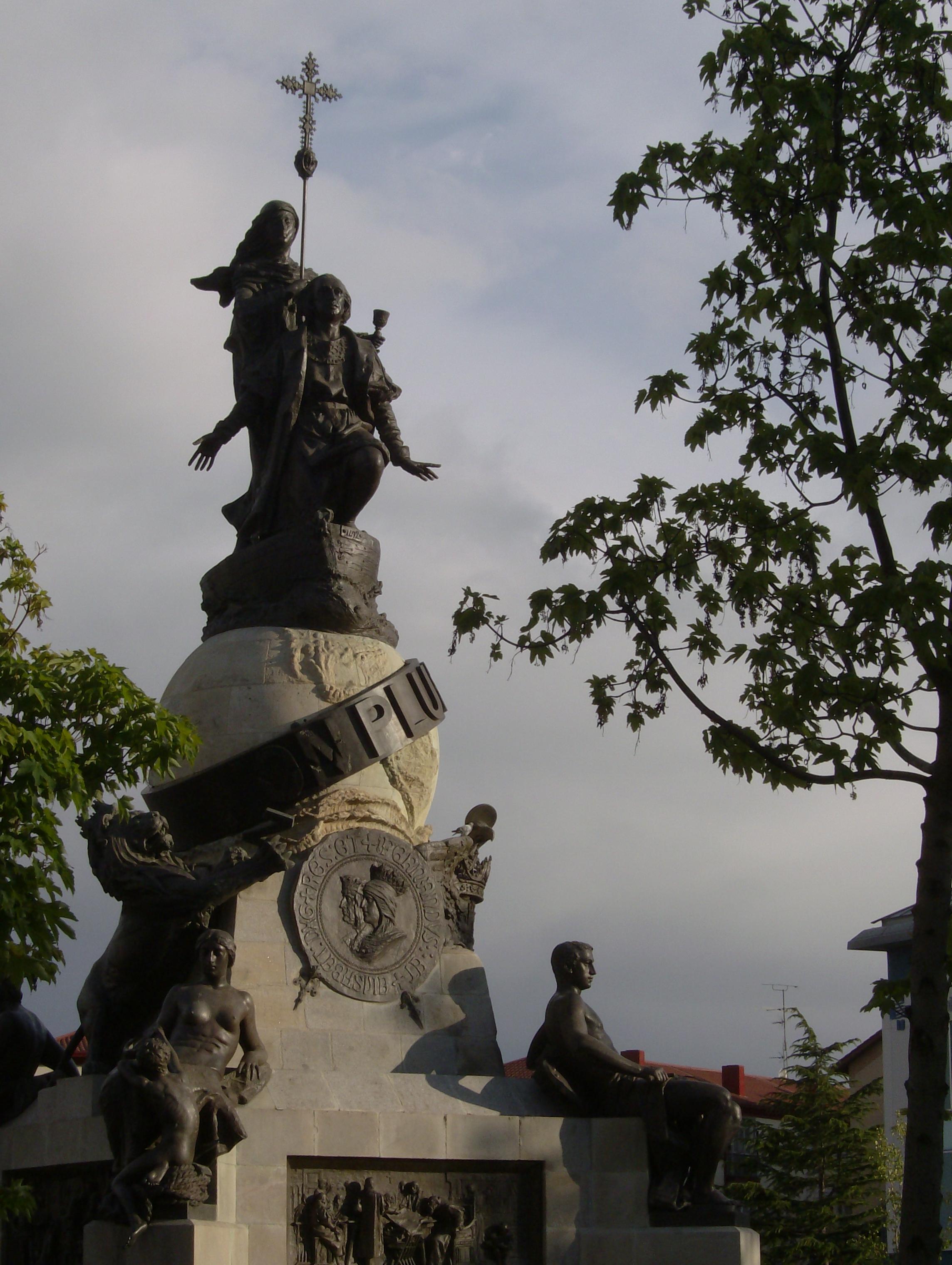 Monumento a Colón en Valladolid. Foto: porquenopuedo. Commons