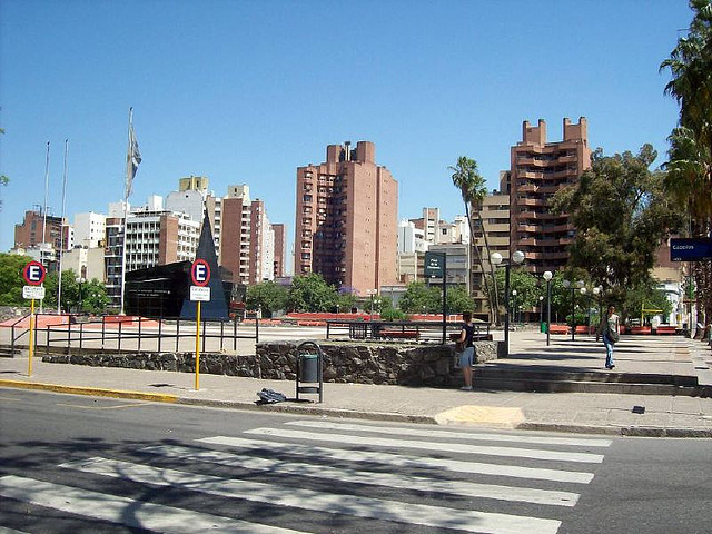 Plaza de la Intendencia de la ciudad de Córdoba