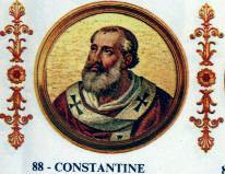 Pope Constantine pope