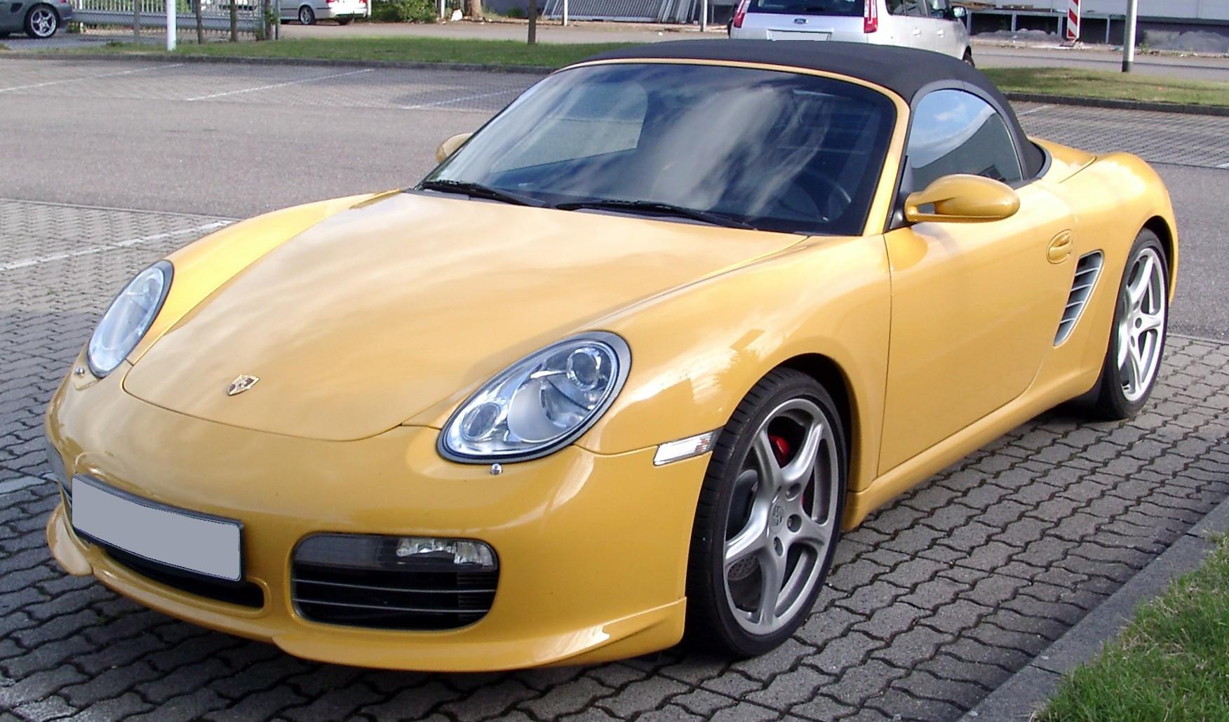 File:Porsche Boxster front 20080612.jpg - Wikimedia Commons