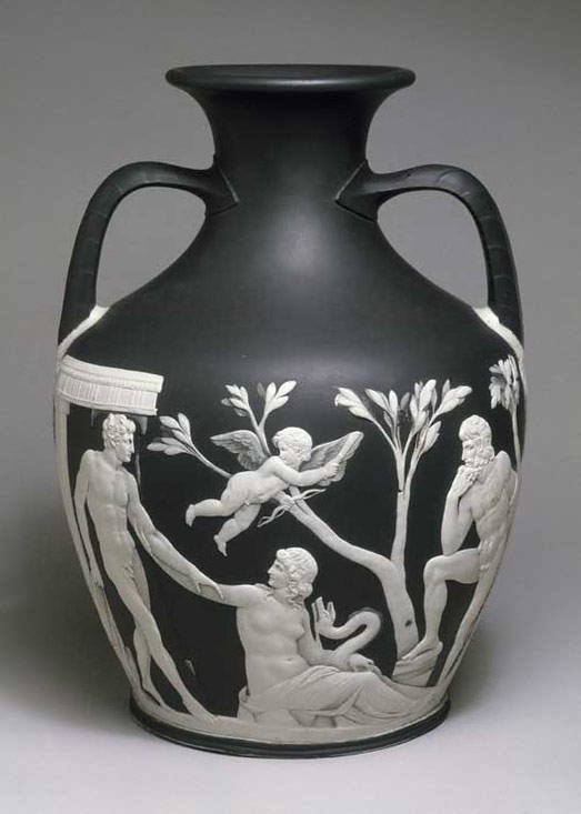 Portland Vase, about 1790, Josiah Wedgwood and...