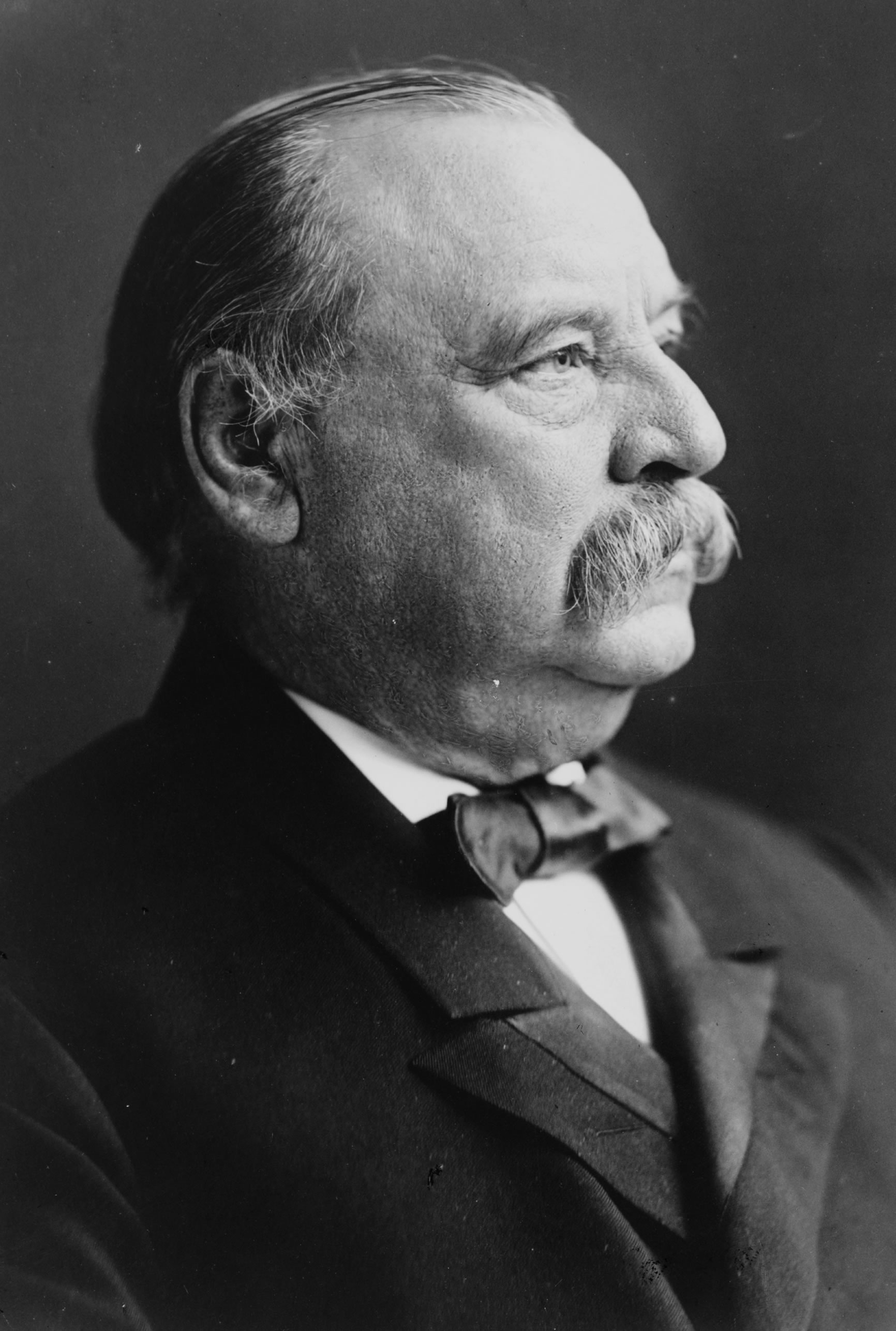 Depiction of Grover Cleveland