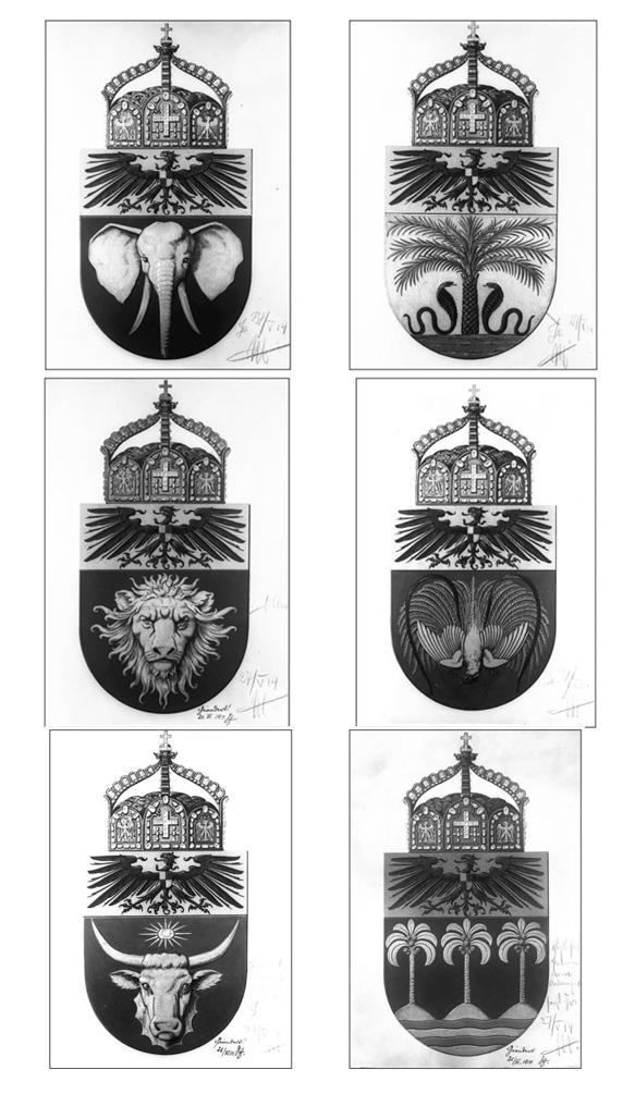 гербы германских государств