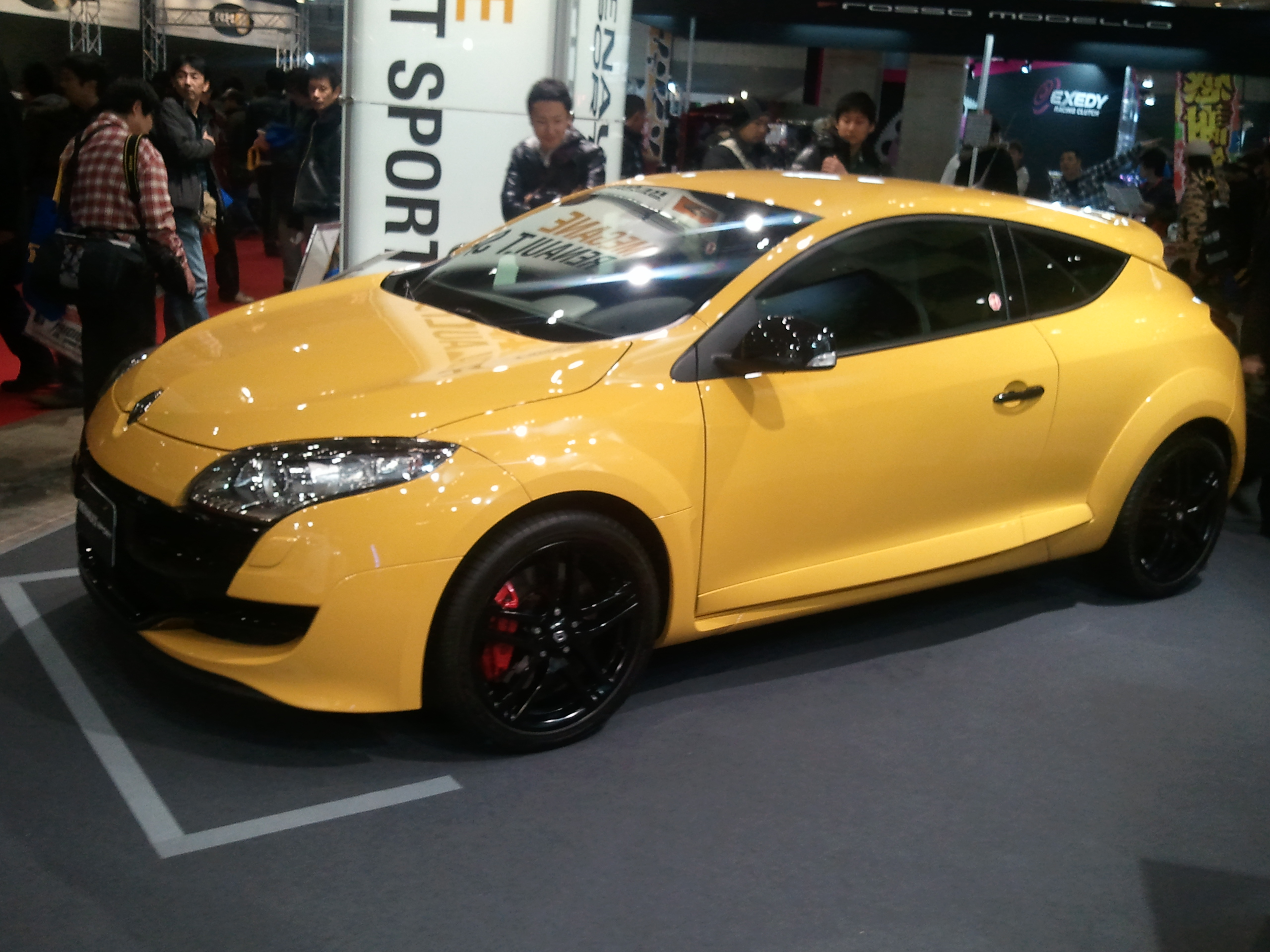 file renault megane rs front tokyo auto salon. Black Bedroom Furniture Sets. Home Design Ideas