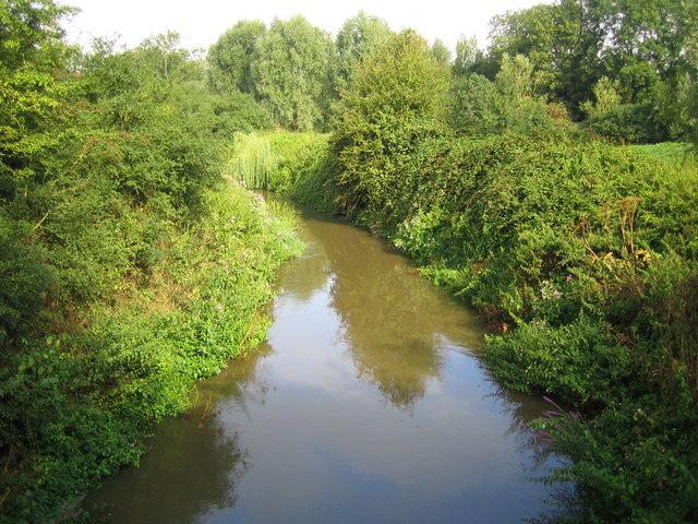 River Mole near Horley - geograph.org.uk - 221686