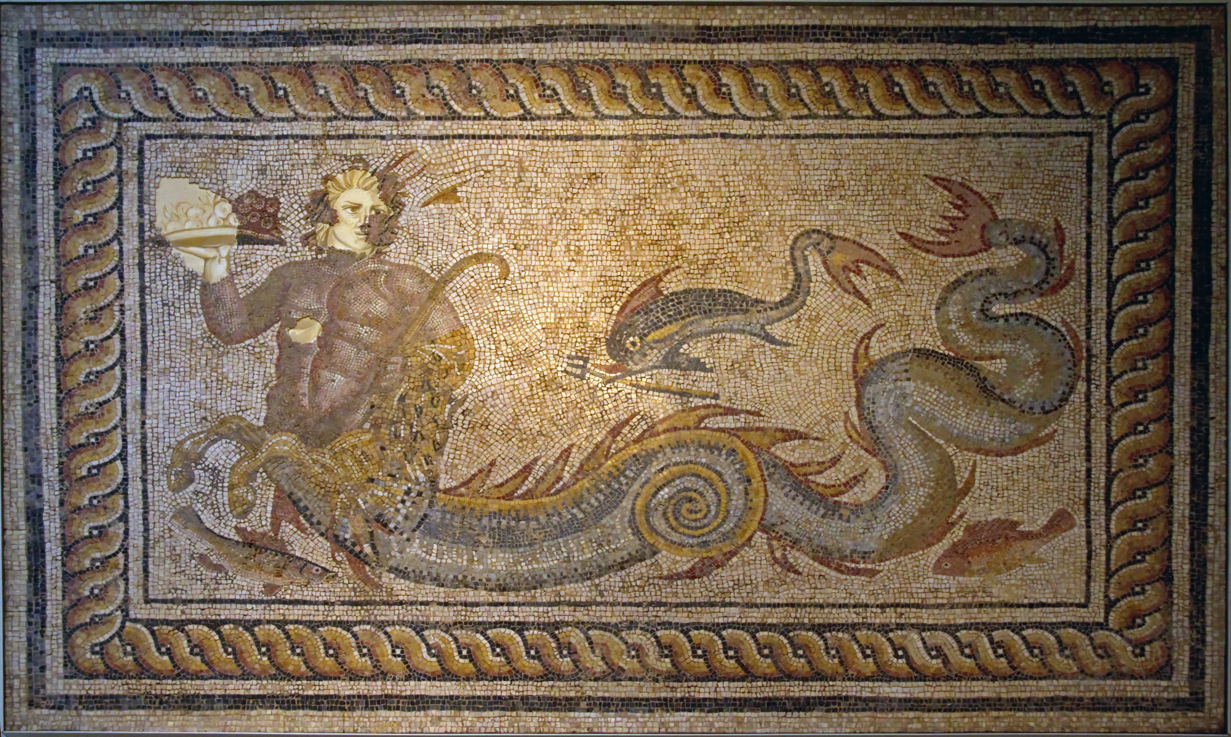 British Museum Mosaics File:roman Mosaic British