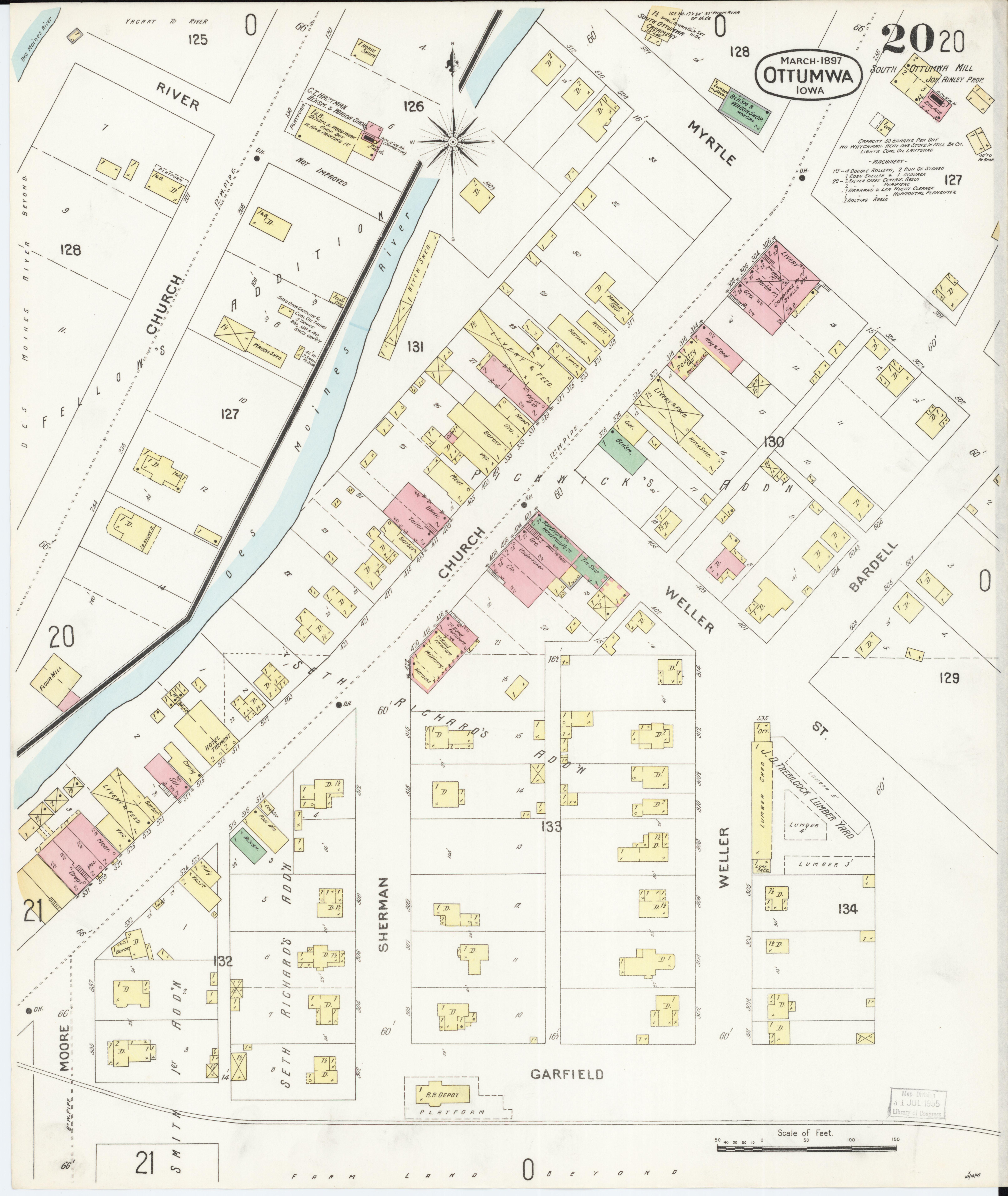 File:Sanborn Fire Insurance Map from Ottumwa, Wapello County ... on iowa map by county, davenport iowa map, iowa roadway map, wisconsin central map, iowa map of america, iowa driving map, iowa travel map, iowa map usa, i-80 map, western railway of alabama map, ne iowa map, iowa metro map, iowa road map, iowa maps with major cities, iowa utility map, google maps iowa street map, illinois railway museum map, east broad top map, saint charles county zip code map, iowa map with mile markers,