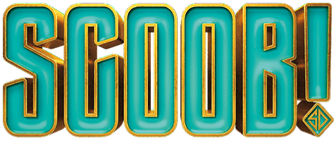 The logo of  Tony Cervone's Scooby-Doo movie, 'Scoob!'. Source: Commons.Wikimedia