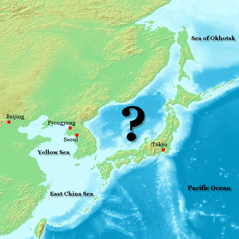 Sea of Japan naming dispute  Wikipedia