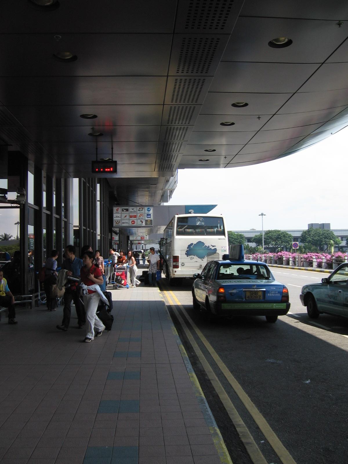 FileSingapore Changi Airport Terminal 1 Drop Off Foyer