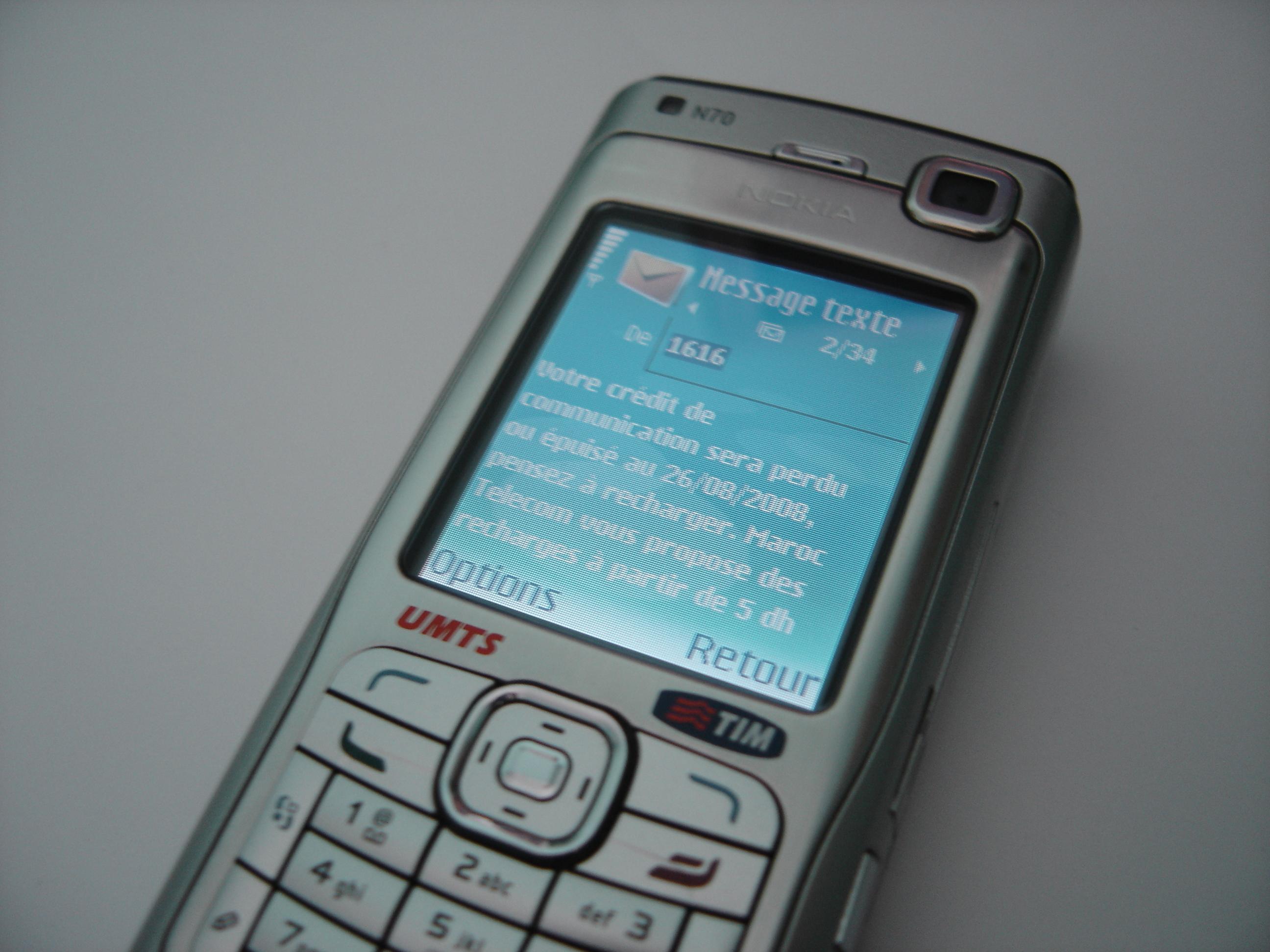 Nokia c3 code sms spy