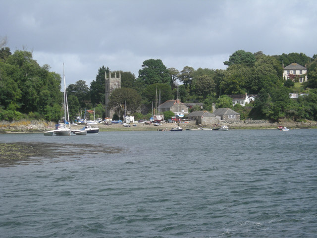 St Anthony-in-Meneage from across the creek - geograph.org.uk - 926734